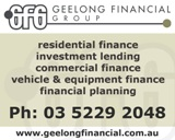 GEELONG FINANCIAL GROUP